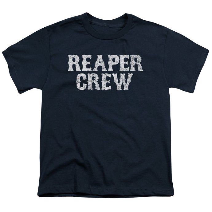 Sons Of Anarchy - Reaper Crew Short Sleeve Youth 18/1 Tee - Special Holiday Gift
