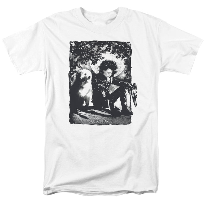 Edward Scissorhands - Lucky Dog Short Sleeve Adult 18/1 Tee - Special Holiday Gift