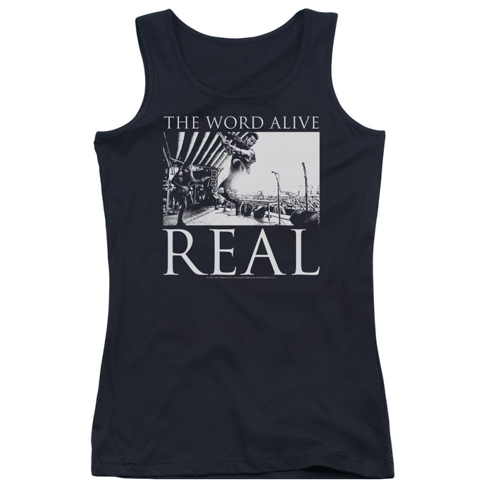 The Word Alive - Live Shot Juniors Tank Top - Special Holiday Gift