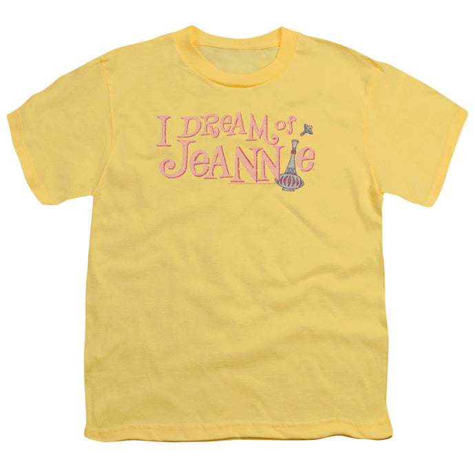 I Dream Of Jeannie - Retro Logo Short Sleeve Youth 18/1 Tee - Special Holiday Gift