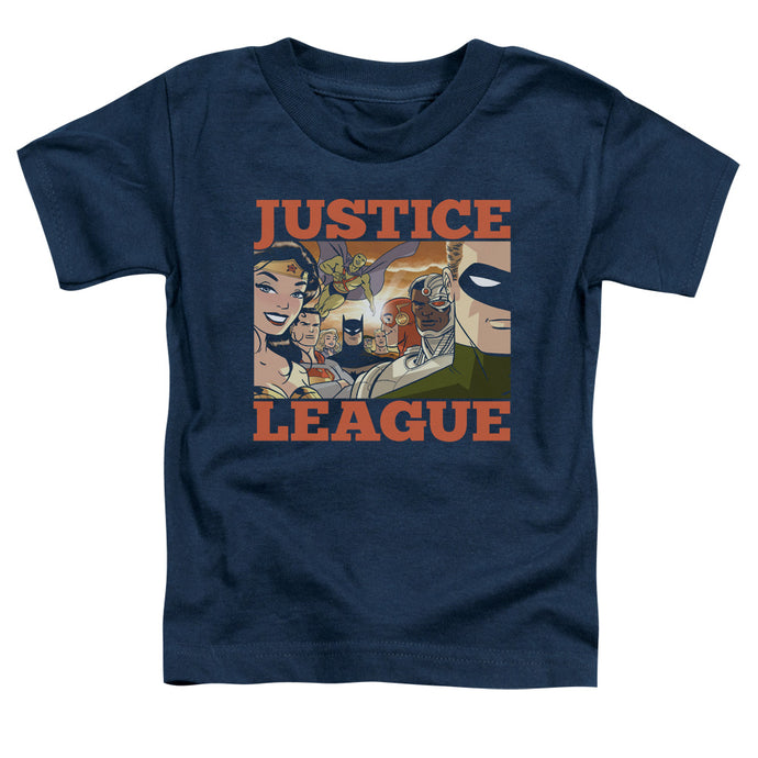 Jla - New Dawn Group Short Sleeve Toddler Tee - Special Holiday Gift