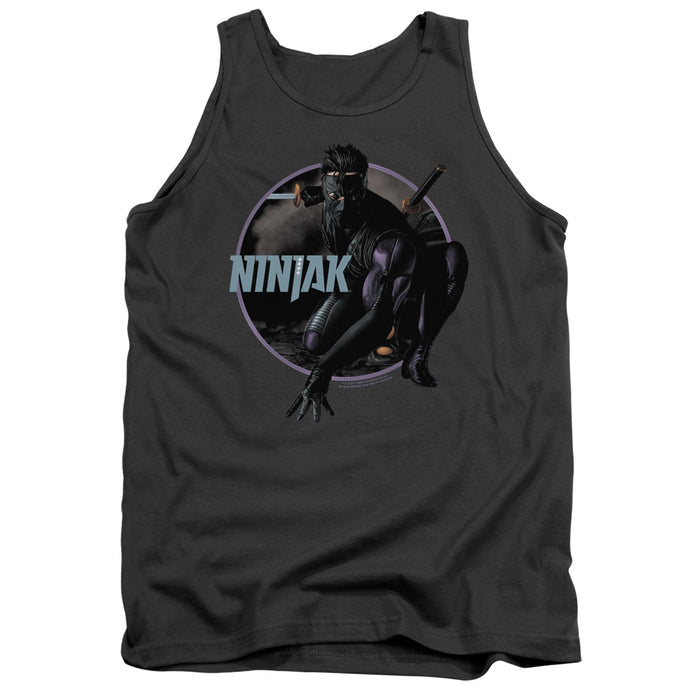 Ninjak - Crouching Ninjak Adult Tank - Special Holiday Gift