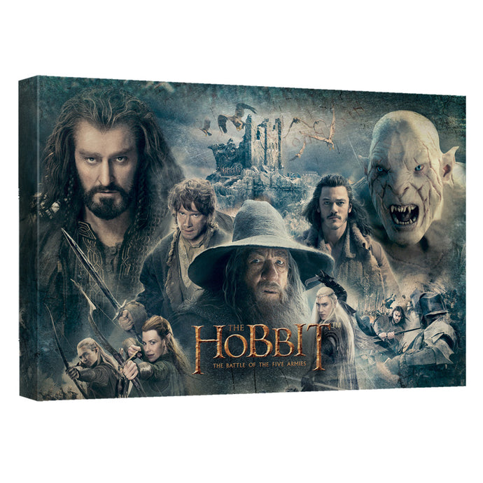 The Hobbit - Epic Canvas Wall Art With Back Board - Special Holiday Gift