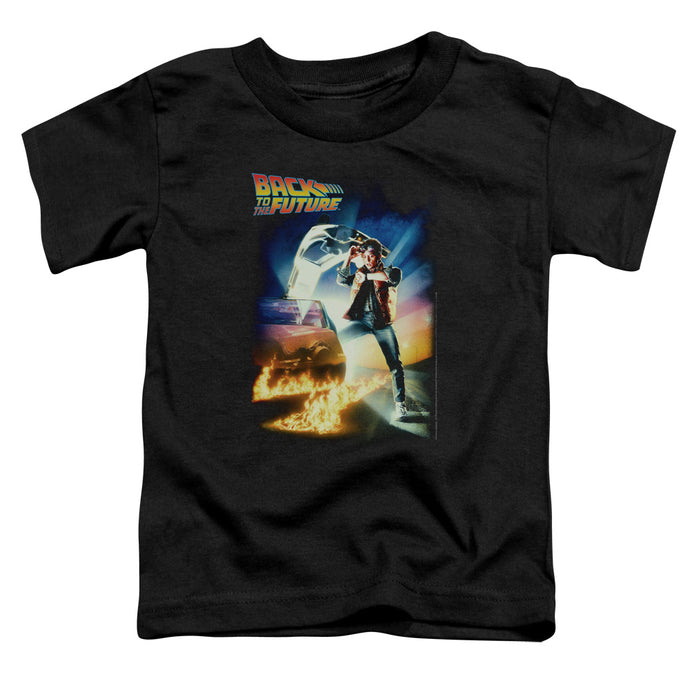 Back To The Future - Poster Short Sleeve Toddler Tee - Special Holiday Gift