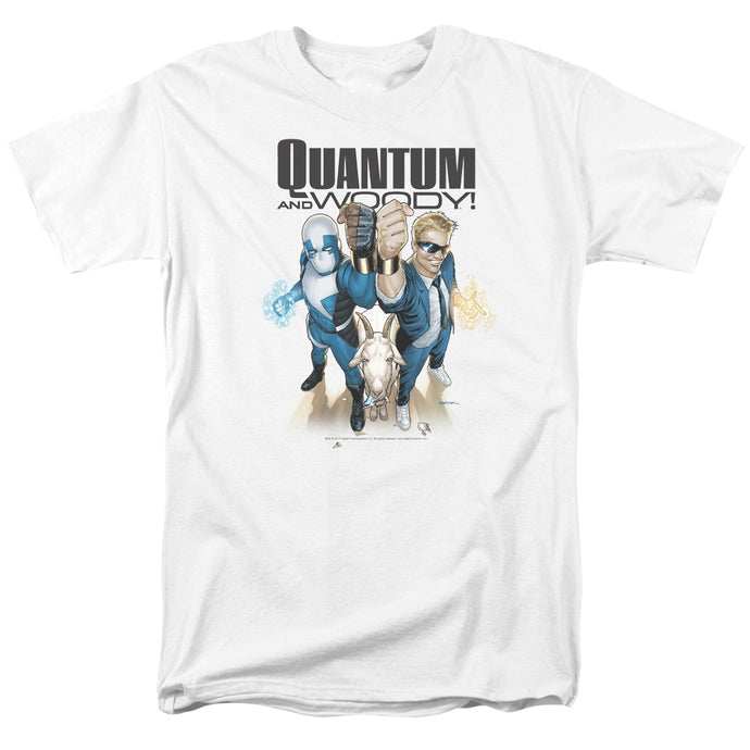 Quantum And Woody - Quantum And Woody Short Sleeve Adult 18/1 Tee - Special Holiday Gift