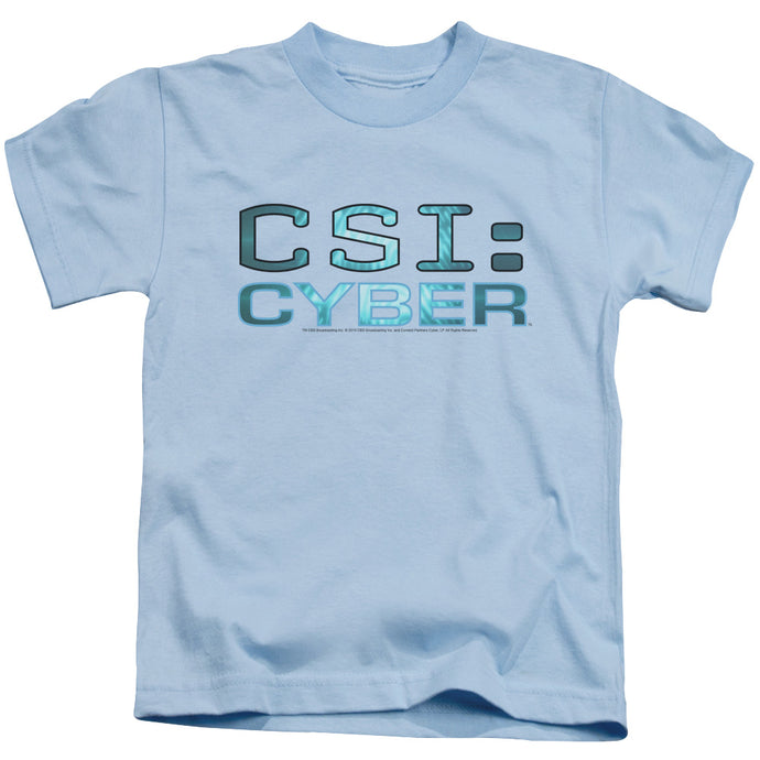 Csi: Cyber - Cyber Logo Short Sleeve Juvenile 18/1 Tee - Special Holiday Gift