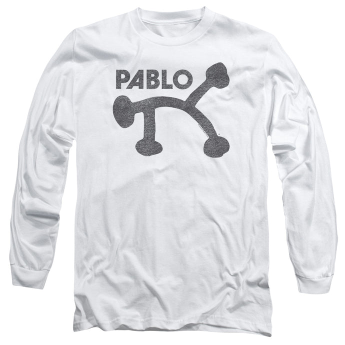 Pablo - Retro Pablo Long Sleeve Adult 18/1 Tee - Special Holiday Gift