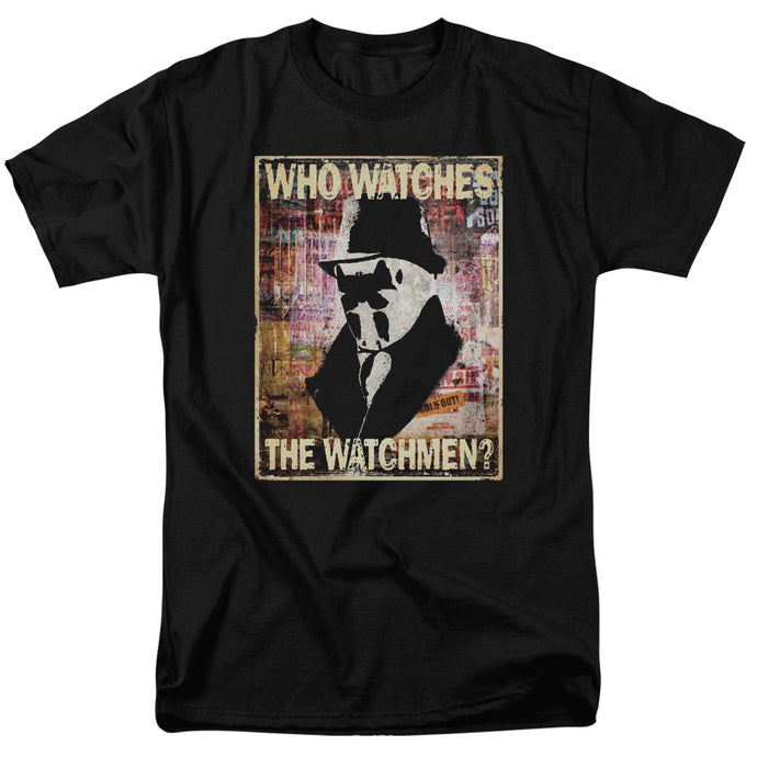 Watchmen - Who Watches Short Sleeve Adult 18/1 Tee - Special Holiday Gift