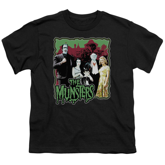 The Munsters - Normal Family Short Sleeve Youth 18/1 Tee - Special Holiday Gift