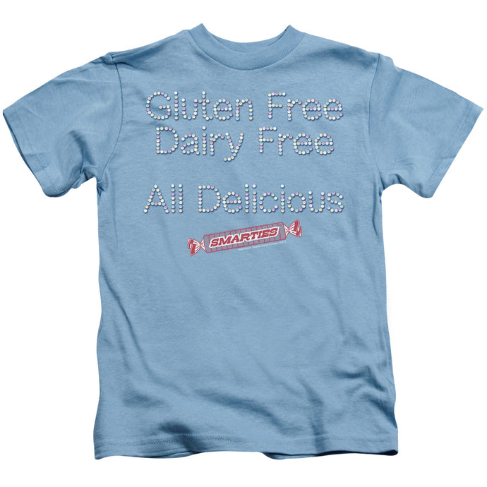 Smarties - Free & Delicious Short Sleeve Juvenile 18/1 Tee - Special Holiday Gift