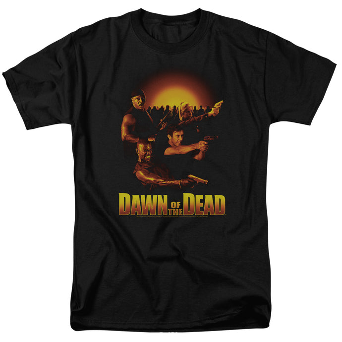 Dawn Of The Dead - Dawn Collage Short Sleeve Adult 18/1 Tee - Special Holiday Gift