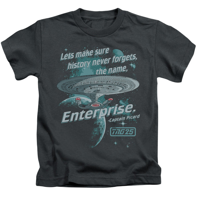 Star Trek - Never Forget Short Sleeve Juvenile 18/1 Tee - Special Holiday Gift