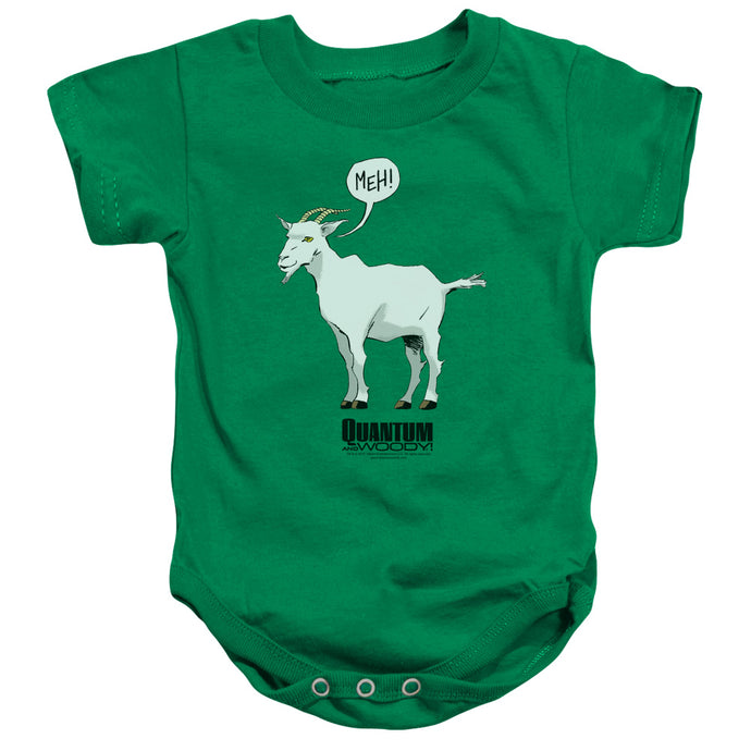 Quantum And Woody - Meh Infant Snapsuit - Special Holiday Gift