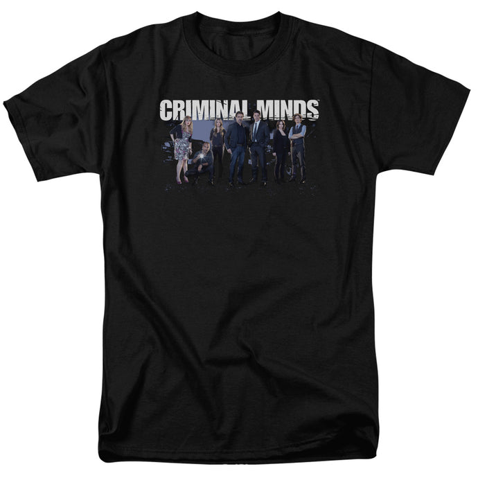 Criminal Minds - Season 10 Cast Short Sleeve Adult 18/1 Tee - Special Holiday Gift