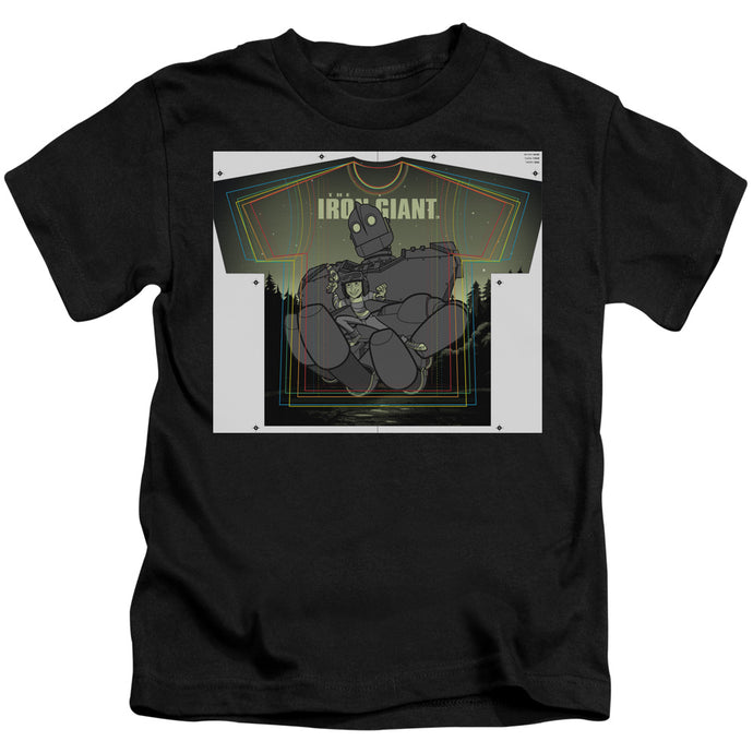 Iron Giant - Helping Hand Short Sleeve Juvenile 18/1 Tee - Special Holiday Gift