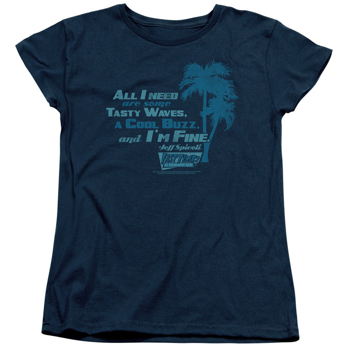 Fast Times Ridgemont High - All I Need Short Sleeve Women's Tee - Special Holiday Gift