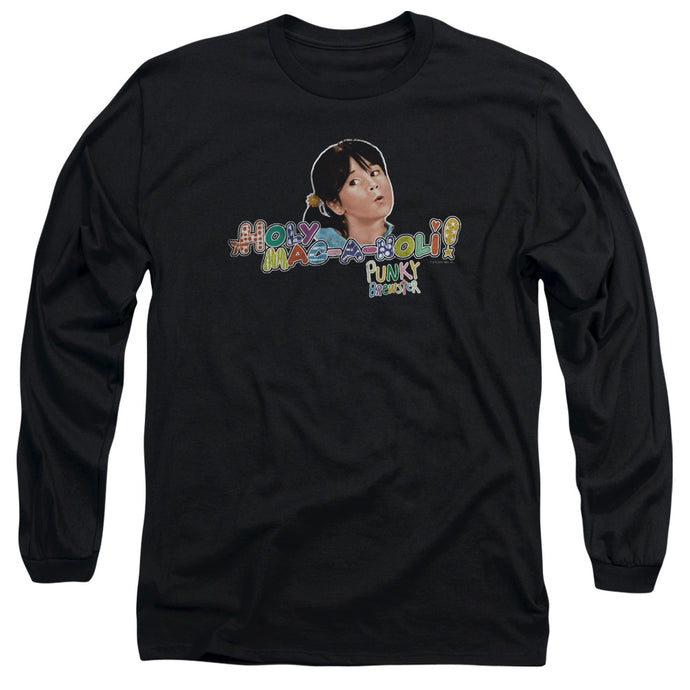 Punky Brewster - Holy Mac A Noli Long Sleeve Adult 18/1 Tee - Special Holiday Gift