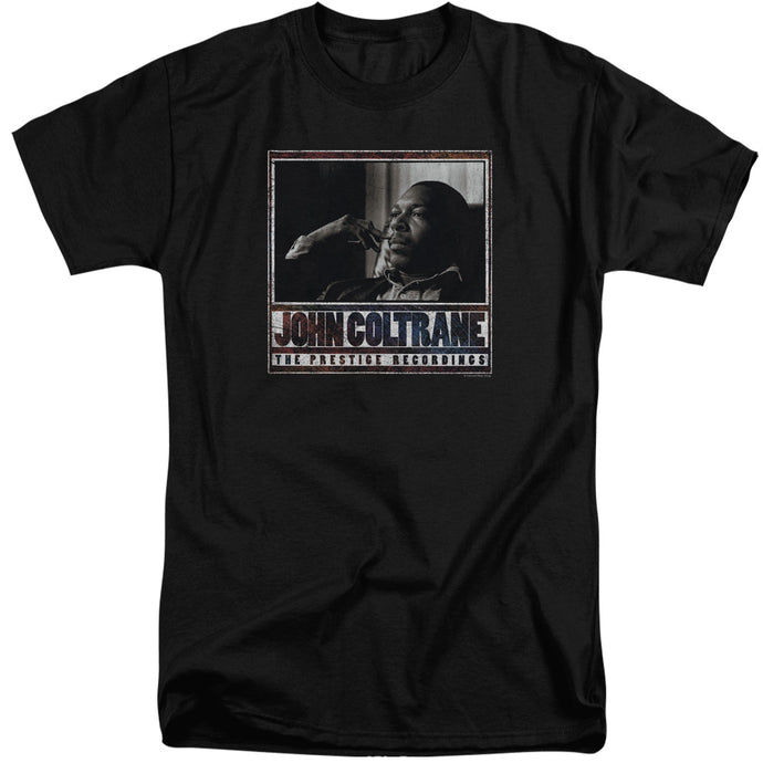 John Coltrane - Prestige Recordings Short Sleeve Adult Tall Tee - Special Holiday Gift