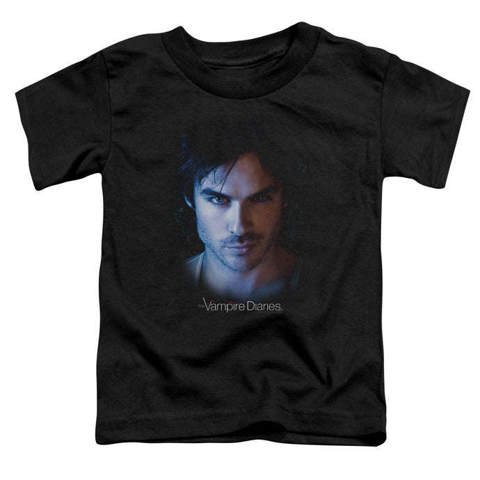Vampire Diaries - Damon Short Sleeve Toddler Tee - Special Holiday Gift