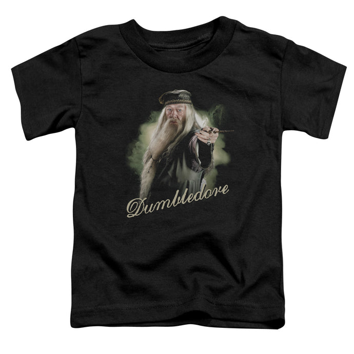 Harry Potter - Dumbledore Wand Short Sleeve Toddler Tee - Special Holiday Gift