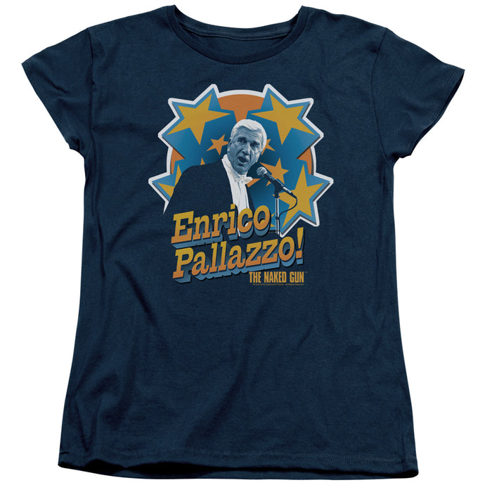 Naked Gun - Its Enrico Pallazzo Short Sleeve Women's Tee - Special Holiday Gift