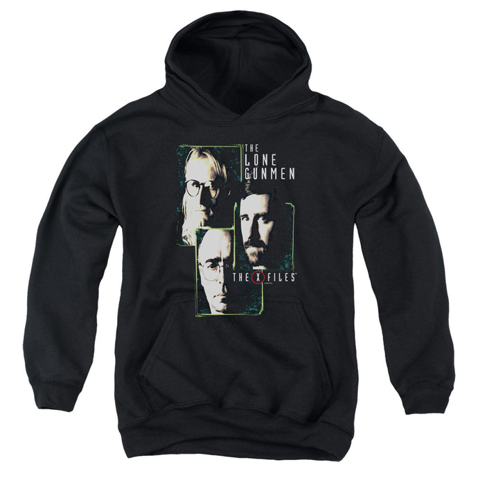 X Files - Lone Gunmen Youth Pull Over Hoodie - Special Holiday Gift