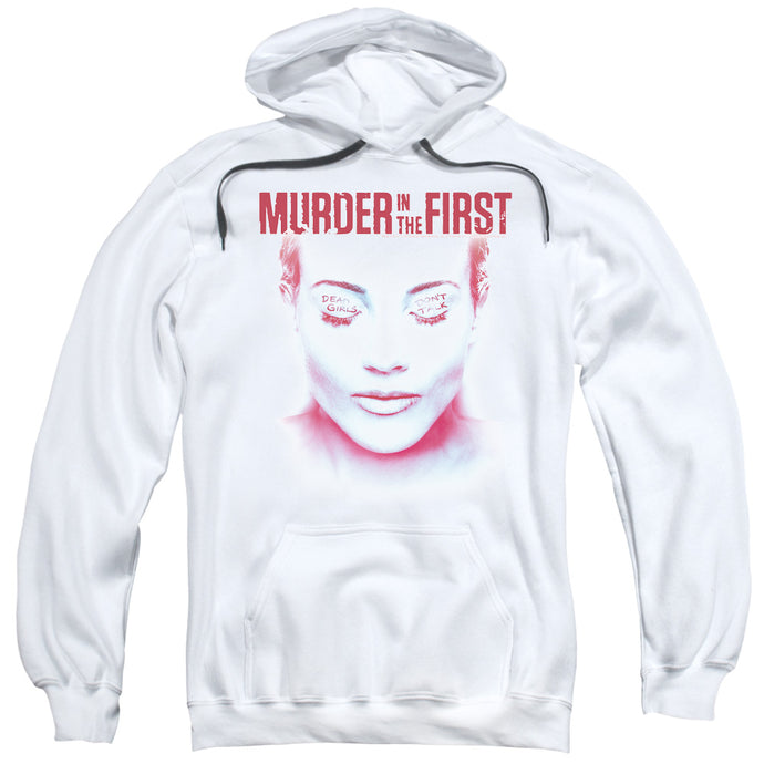 Murder In The First - Don't Talk Adult Pull Over Hoodie - Special Holiday Gift