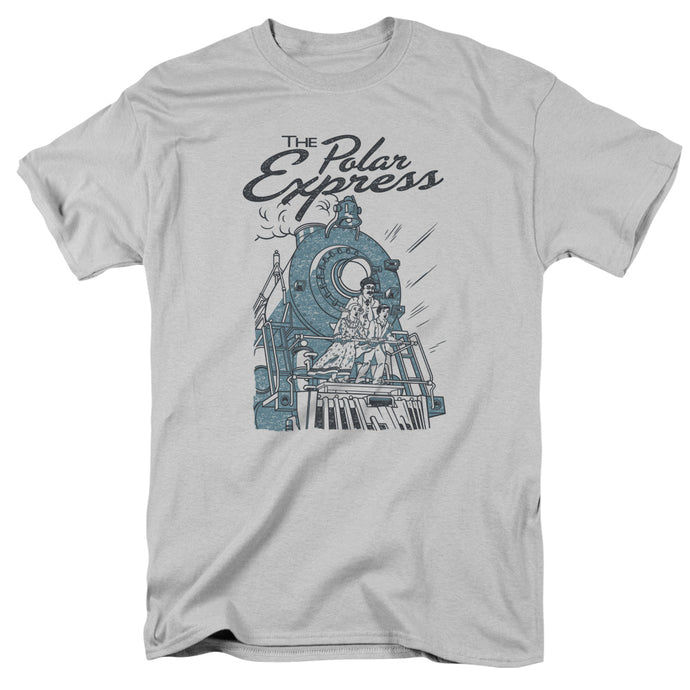 Polar Express - Rail Riders Short Sleeve Adult 18/1 Tee - Special Holiday Gift