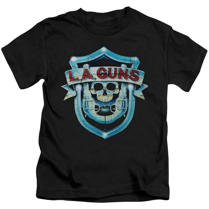 La Guns - La Guns Shield Short Sleeve Juvenile 18/1 Tee - Special Holiday Gift