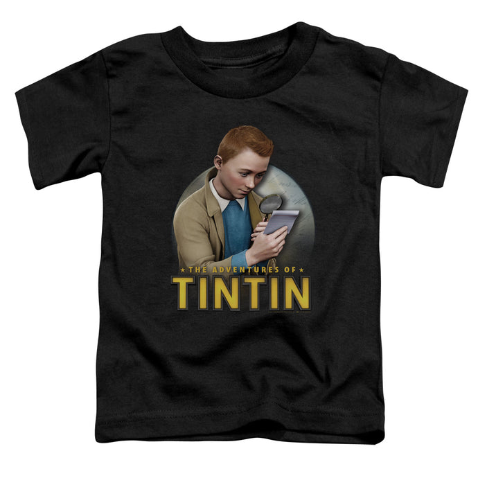 Tintin - Looking For Answers Short Sleeve Toddler Tee - Special Holiday Gift