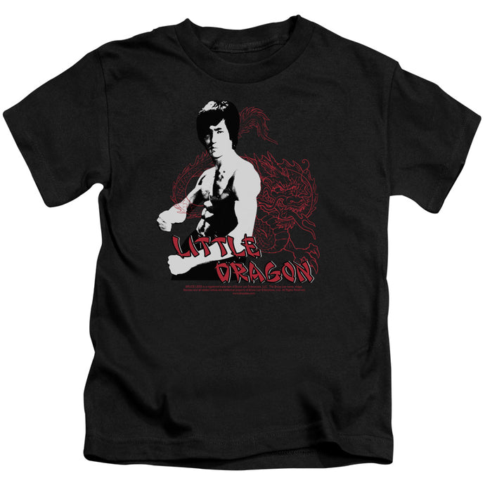 Bruce Lee - Little Dragon Short Sleeve Juvenile 18/1 Tee - Special Holiday Gift