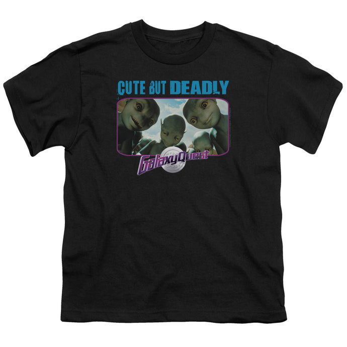 Galaxy Quest - Cute But Deadly Short Sleeve Youth 18/1 Tee - Special Holiday Gift