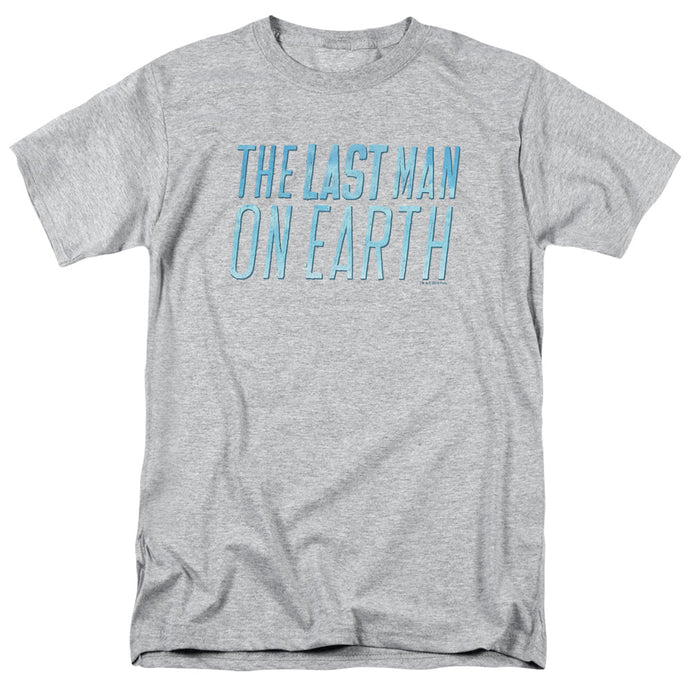 Last Man On Earth - Logo Short Sleeve Adult 18/1 Tee - Special Holiday Gift