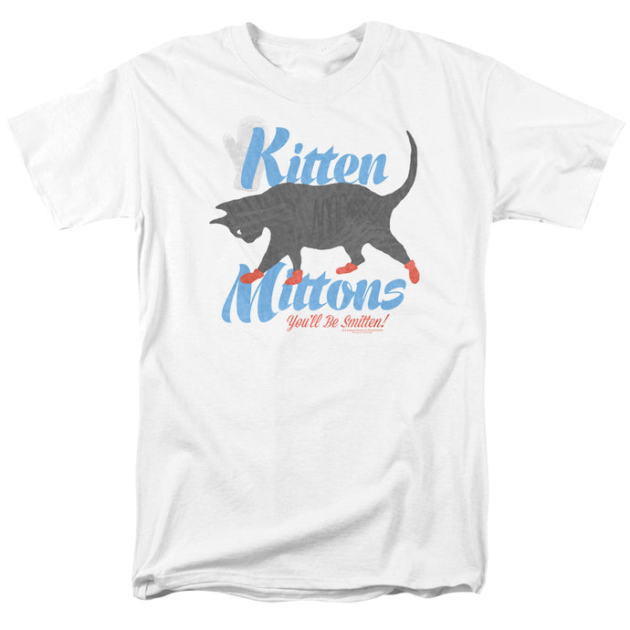 Its Always Sunny In Philadelphia - Kitten Mittons Short Sleeve Adult 18/1 Tee - Special Holiday Gift