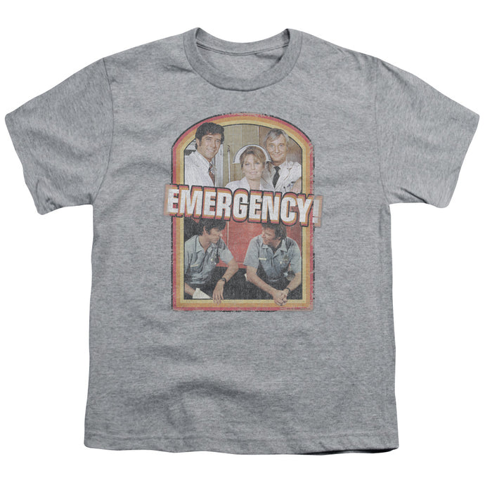 Emergency - Retro Cast Short Sleeve Youth 18/1 Tee - Special Holiday Gift