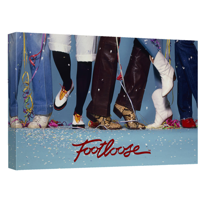 Footloose - Loose Feet Canvas Wall Art With Back Board - Special Holiday Gift
