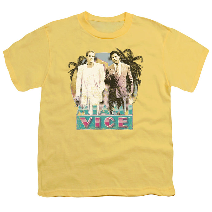 Miami Vice - 80 S Love Short Sleeve Youth 18/1 Tee - Special Holiday Gift
