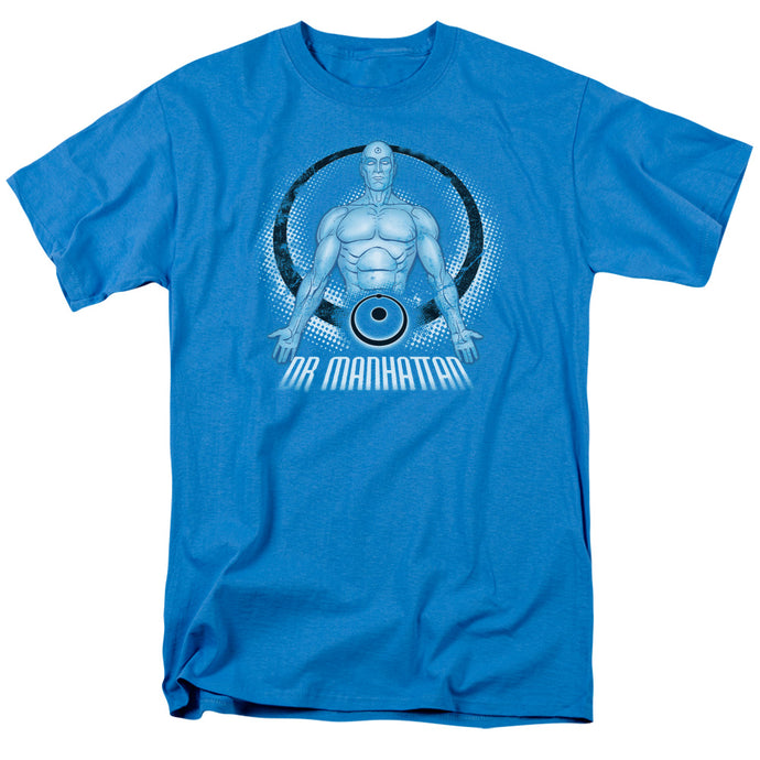 Watchmen - Dr. Manhattan Short Sleeve Adult 18/1 Tee - Special Holiday Gift