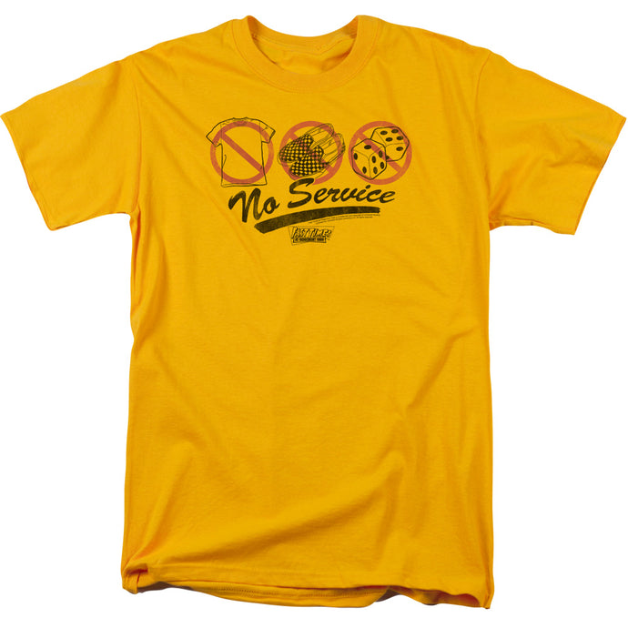Fast Times Ridgemont High - No Service Short Sleeve Adult 18/1 Tee - Special Holiday Gift
