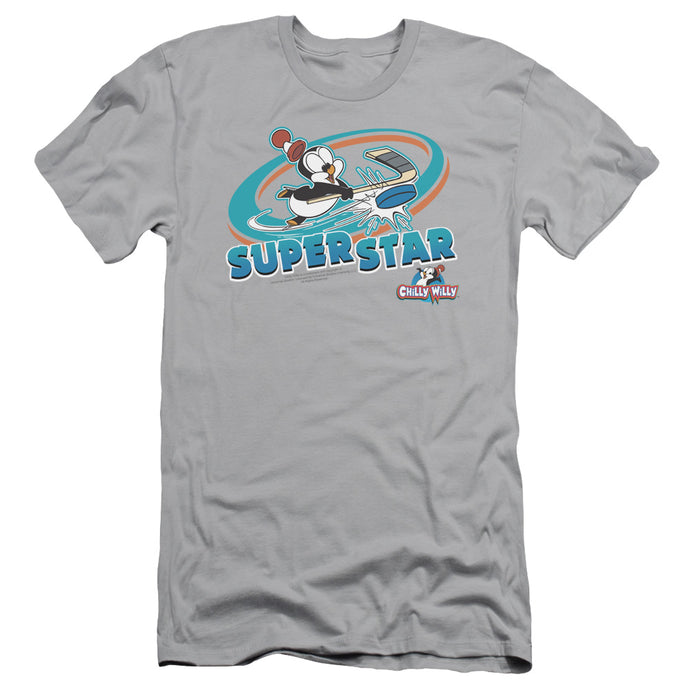Chilly Willy - Slap Shot Short Sleeve Adult 30/1 Tee - Special Holiday Gift