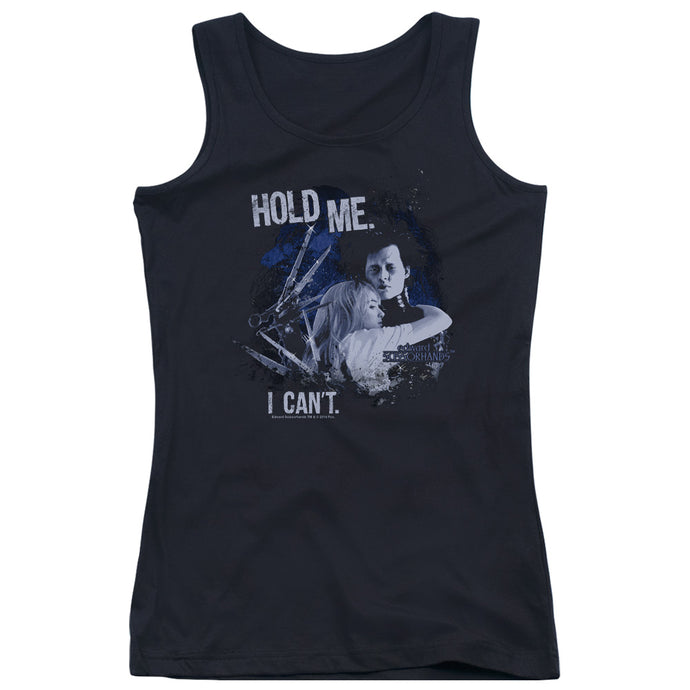 Edward Scissorhands - Hold Me Juniors Tank Top - Special Holiday Gift