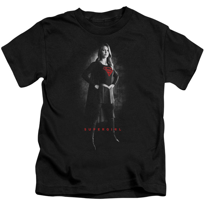 Supergirl - Supergirl Noir Short Sleeve Juvenile 18/1 Tee - Special Holiday Gift