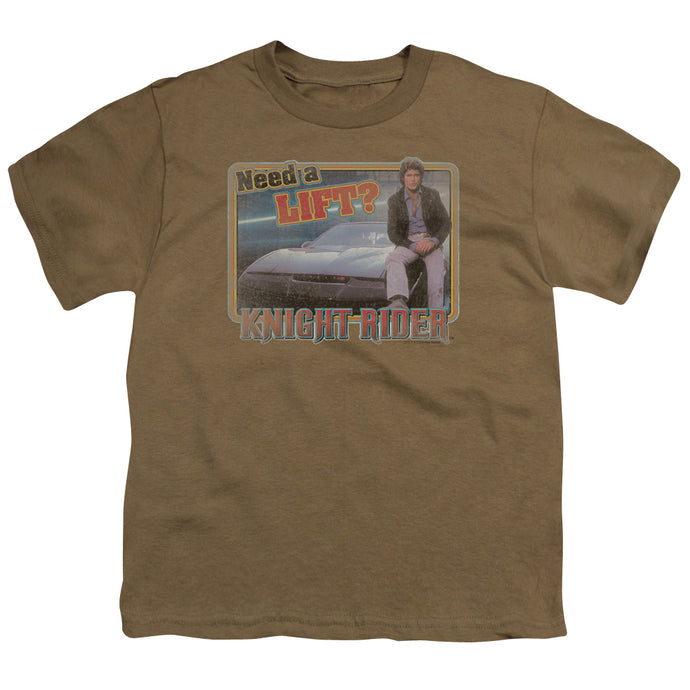 Knight Rider - Lift Short Sleeve Youth 18/1 Tee - Special Holiday Gift
