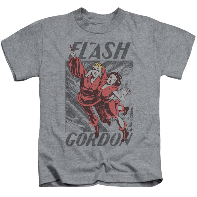 Flash Gordon - To The Rescue Short Sleeve Juvenile 18/1 Tee - Special Holiday Gift