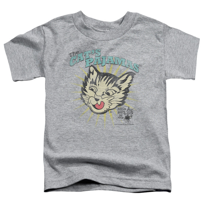 Puss N Boots - Cats Pajamas Short Sleeve Toddler Tee - Special Holiday Gift