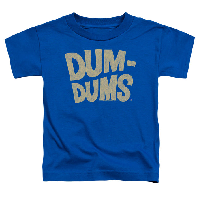 Dum Dums - Distressed Logo Short Sleeve Toddler Tee - Special Holiday Gift