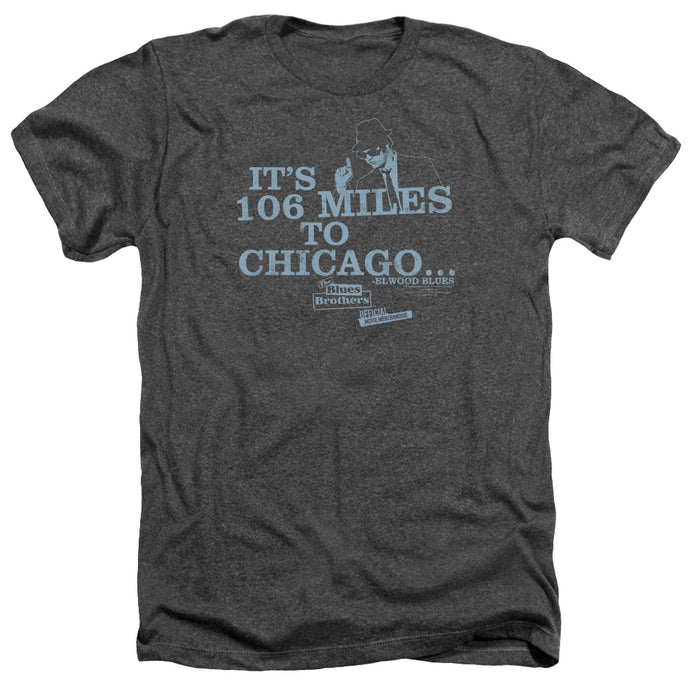 Blues Brothers - Chicago Adult Heather - Special Holiday Gift