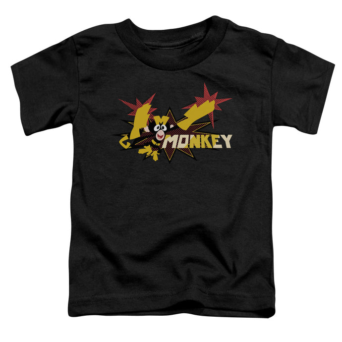 Dexters's Laboratory - Monkey Short Sleeve Toddler Tee - Special Holiday Gift