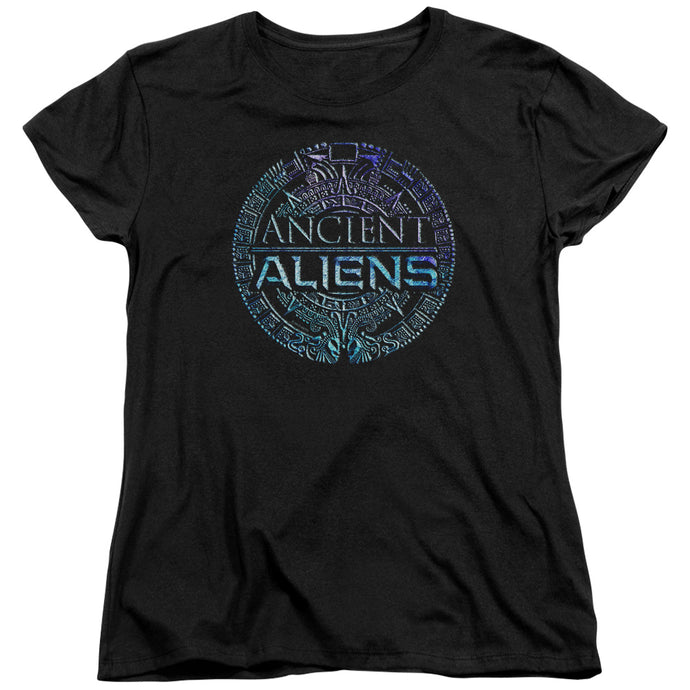Ancient Aliens - Symbol Logo Short Sleeve Women's Tee - Special Holiday Gift