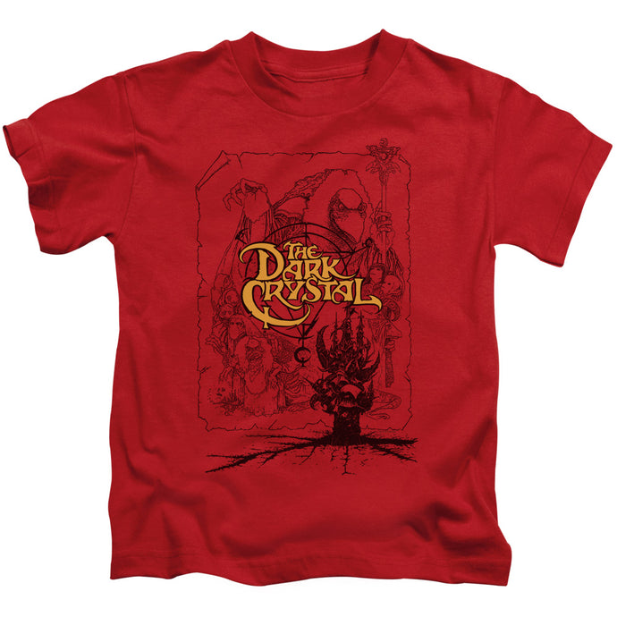 Dark Crystal - Poster Lines Short Sleeve Juvenile 18/1 Tee - Special Holiday Gift